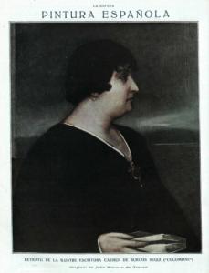 Carmen de Burgos Seguí (La Esfera, 16.3.1918)
