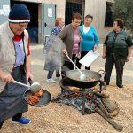 Día de matanza, elaboración de queso de pastor y juegos populares en Granátula, que celebra sus Jornadas Tradicionales