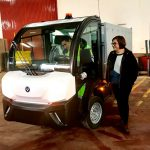 Ciudad Real: Limpieza Viaria incorpora un vehículo eléctrico para mejorar la supervisión de las áreas de aportación