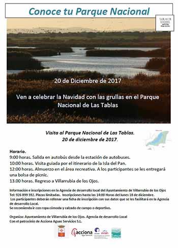 Villarrubia Cartel Conoce tu parque nacional