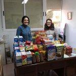 Aldea del Rey: Alumnos del CEIP 'Maestro Navas' recoge más de 120 kilos de alimentos que se han canalizado a familias desfavorecidas