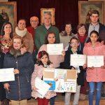 Entregados los premios de christmas y belenes de Almodóvar del Campo