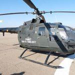 Almagro despide al helicóptero BO-105 «Bolkow» después de 37 años de servicio en FAMET