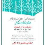 La Bienvenida celebra su mercadillo solidario el sábado 16 de diciembre