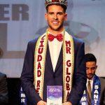 El solanero Álvaro Alhambra es coronado como Mister Global Ciudad Real 2018