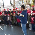 Más de 1.500 alumnos de Ciudad Real participan en la II Muestra Escolar de Villancicos en la Calle
