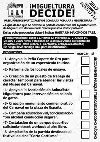 papeleta votaciones