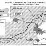 Puertollano: Publicada la declaración ambiental favorable para la variante de la A-43, que salvará la sierra con un túnel de 1.700 metros