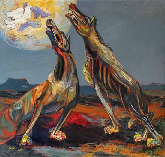 Los lobos del capitalismo (Miguel Prieto, 1950)