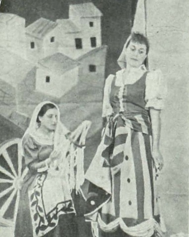 El Belén, de La Tarumba falangista (Y, 1.3.1938)