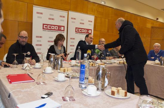 CCOO desayuno prensa 1