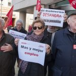 Ciudad Real: Jubilados de CCOO exigen al Gobierno una pensión digna