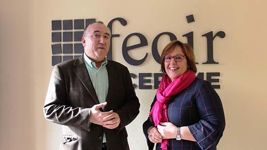 Carmen Olmedo con Carlos Marin