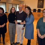 OPAÑEL recibe los 4.000 euros de la Carrera de la Mujer para su programa contra la violencia machista