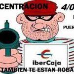La PAH de Puertollano se concentrará este jueves ante Ibercaja