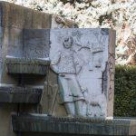 Ciudad Real: Lozano solicita que se restaure la fuente de la plaza de la Provincia y que la estatua de Cervantes retorne a su ubicación anterior