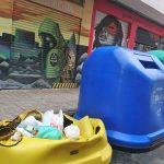 Ciudad Real: Vuelven a quemar un contenedor de reciclaje en la calle Lirio
