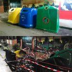 El Ayuntamiento repone los contenedores de reciclaje quemados de la calle Lirio