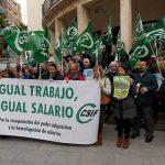 Nuevas movilizaciones de los trabajadores de Justicia por su equiparación salarial
