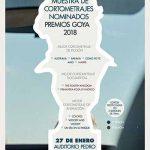 Puertollano:Nueve cortometrajes nominados a los Premios Goya serán proyectados en una muestra en el Auditorio