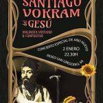 Puertollano: El violinista Santiago Vokram actúa esta noche en Pub Luna con un concierto especial de Año Nuevo