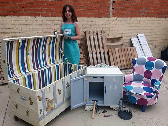 Malag n una segunda oportunidad para los muebles antiguos en la manos de leticia exp sito - Muebles segunda mano ciudad real ...