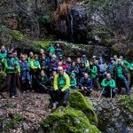Puertollano:Senderismo frente al frío invernal en una ruta del Club Pozo Norte por Fuencaliente