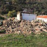 Comienza la demolición del histórico poblado minero de Las Tiñosas
