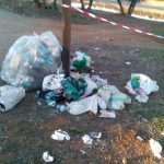 El pantano del Vicario convertido en basurero