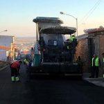 El Ayuntamiento de Villarrubia de los Ojos acomete otro importante plan de asfaltado de calles esta legislatura