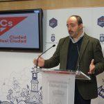 Ciudadanos pide que el Ayuntamiento de Ciudad Real apoye la equiparación salariala través de unadeclaración institucional