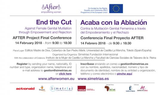Conferencia contra la MGF (14.2.2018)