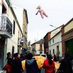 Los animados Carnavales de Calzada arrancarán con el tradicional y divertido manteo de Peleles del próximo Jueves Lardero