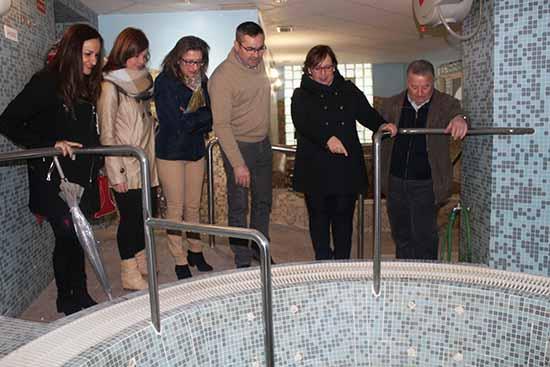 Carmen Omedo visita Balneario Fuencaliente 1
