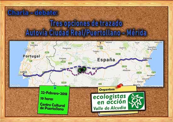 Charla-debate autovía Ciudad Real-Mérida - 02