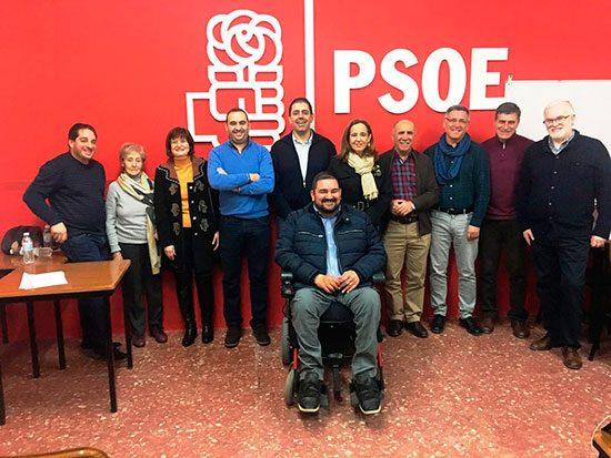 IMAGEN-DE-LA-NUEVA-EJECUTIVA-SOCIALISTA-DE-ARGAMASILLA-DE-CALATRAVA
