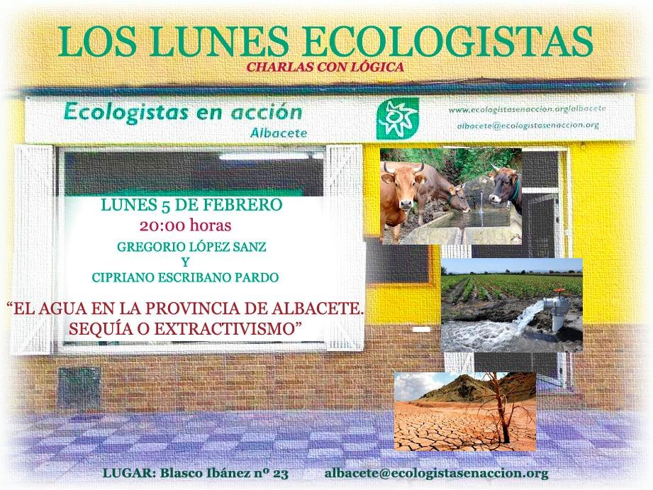 Lunes ecologistas 5-2-2018 Albacete