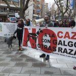 Manifestación contra la caza con galgos - 1
