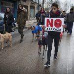 Manifestación contra la caza con galgos - 4