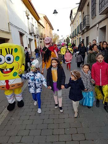 Torralba, carnaval en familia