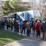 autobús del real madrid en el Torreón - 1