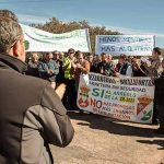"""Vecinos deBrazatortas y Cabezarrubias del Puerto cortan la CR-5021 para exigir su arreglo """"urgente"""""""