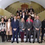 El presidente de la Diputación participa en Tomelloso en el Consejo de Gobierno de Castilla-La Mancha