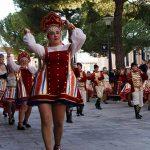 Daimiel: Vikingos, rusos y óperas, entre otros, protagonizaron el desfile de Carrozas, Charangas y Peñas