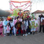 Las Casas disfruta de su desfile de Carnaval