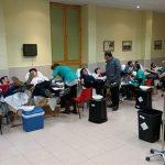 Ciudad Real: Casi cien personas donan sangre en el Colegio Hermano Gárate