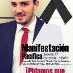 """Convocan una manifestación pacífica para este sábado en Herencia para pedir """"justicia"""" por la muerte de Gonzalo Bujan"""