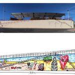 Puertollano: El puente de San Agustín y el mercado municipal lucirán murales urbanos en una iniciativa de Laborvalía