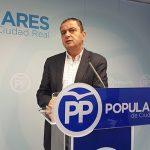 """Martín-Toledano: """"Es inexplicable que Page se queje de que no le llega más dinero del Gobierno cuando su partido bloquea los PGE"""""""