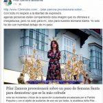 Usan al Cautivo de Sanlúcar para burlarse de la alcaldesa de Ciudad Real